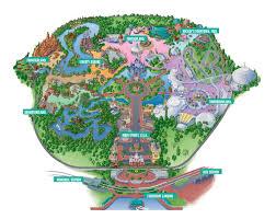 Universal Studios Orlando Park Map by Universal Studios