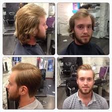 before and after thinning mens haircut 18 best before and after images on pinterest before after