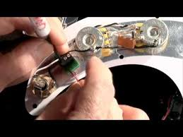 how to install dimarzio solderless p bass pickguard youtube