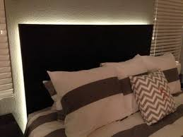 diy headboard with lights 44 diy headboard ideas to try for your next remodeling