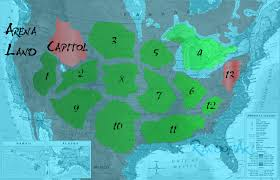 Hunger Games Minecraft Map Map Of America If Every State Had The Same Number Of People 25
