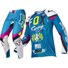 fox motocross clothing uk fox racing 2017 mx new 360 rohr teal flo yellow jersey pants