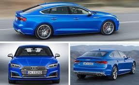 audi a5 price usa 2018 audi a5 s5 sportback official photos and info car