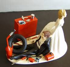 car wedding cake toppers hahaha racing auto mechanic customized wedding cake topper