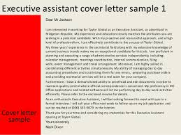 executive assistant cover letter custom writing company of wisconsin