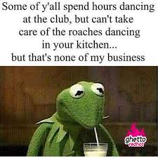 Stripper Meme - none of my business ghetto red hot