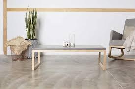 Concrete Coffee Table Oslo Rectangle Concrete Coffee Table Concrete Design House