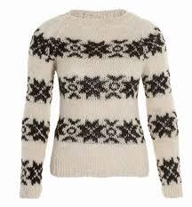 extremes of copyright knitted folk sweater europe uk