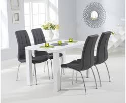 white matt dining table sets the great furniture trading company