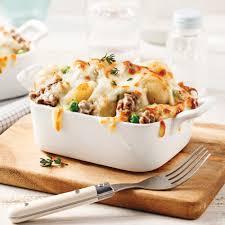 cuisiner boeuf casserole de boeuf haché et pommes de terre soupers de semaine