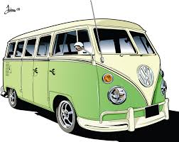 van volkswagen hippie vw camper van vectorial motor pinterest vw camper vans vw