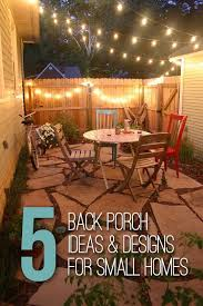 Patio Decorating Ideas Pinterest Best 25 Small Back Porches Ideas On Pinterest Screened Back