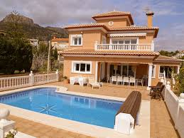 5 bed 4 bath det lux villa calpe heated homeaway calpe heated pool bar pool table beach 3 min sky wifi