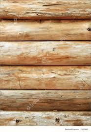 bright wooden log wall image