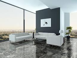 Wohnzimmer Naturstein Granitfliesen Black Forest Poliert 61 30 5 1 Cm Feinsteinzeug