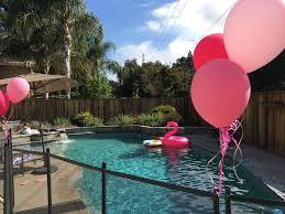 the larson lingo claire u0027s flamingo pool party
