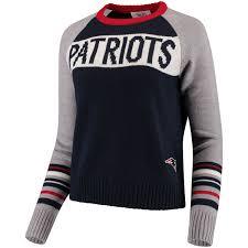 patriots sweater s patriots touch by alyssa navy gray team