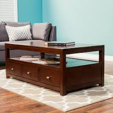 Coffee Tables With Shelves Furniture Wood Coffee Table Luxury Coffee Tables
