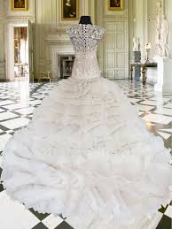 wedding gown for rent lovely mermaid wedding gown with trail available for rent at