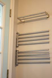 Storage For Towels In Small Bathroom by