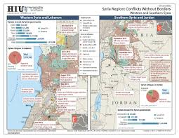 Map Of Syria Conflict by U S State Department Iraq Syria Conflict Without Borders Map