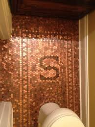 finished product penny floor complete with family initial guest