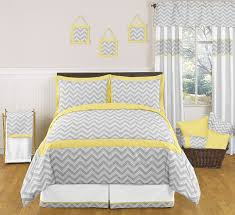 cool yellow and grey bedroom on jojo designs zig zag yellow and