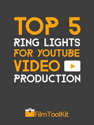 Best Ring Light Top 5 Best Ring Lights For Youtube Video Production Filmtoolkit