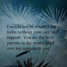 thank you message for parents on graduation day parents