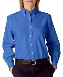 ultraclub women u0027s wrinkle free oxford button up shirt at amazon