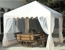 gazebo mosquito netting buy 10 x 10 ft gazebo w mosquito net sides