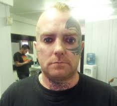 never asleep eyelids tattooed to look like open geekologie