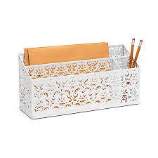 Office Depot Desk Organizer Plush Design White Desk Organizer Charming Ideas Realspace Brocade