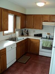 kitchens with oak cabinets and white appliances paint kitchen cabinets white appliances coryc me