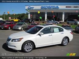 2011 honda accord white white pearl 2011 honda accord ex l v6 sedan ivory