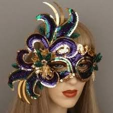 new orleans masquerade masks mardi gras magic masquerade mask new orleans purple green and