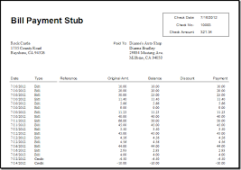 what bills credits did that quickbooks check cover accountex report