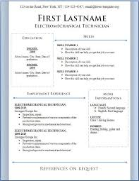 free resume templates for microsoft word 2013 download free resume template free resume format downloads resume