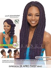 how many packs of expression hair for twists janet collection expression 3x afro twist braid