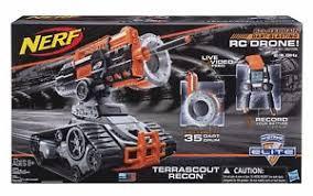 nerf remote control tank nerf n strike elite terrascout recon remote control drone blaster r