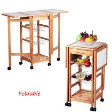 island trolley kitchen protable drop leaf kitchen island trolley cart storage drawers