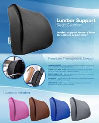 Covering A Seat Cushion Amazon Com Pharmedoc Lumbar Support For Office Chair U0026 Car Seat