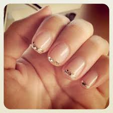sparkly alternatives to the french manicure