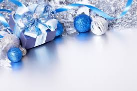 blue christmas silver and blue christmas background with gift gallery