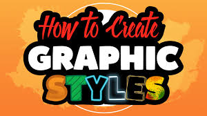 how to create graphic styles in adobe illustrator cc youtube