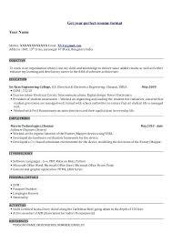 engineering proposal template sample resume for electronics engineer electronics engineering