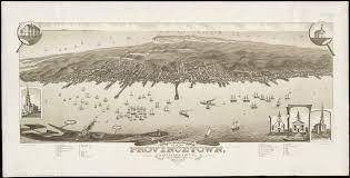 1882 bird u0027s eye view of provincetown capecod 1800s ptown