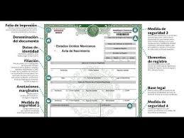 formato de acta de nacimiento en blanco gratis ensayos imprime tu acta de nacimiento en línea youtube