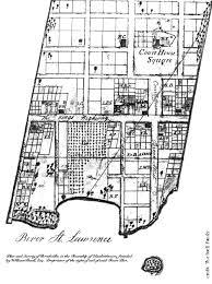 william buell u0027s 1816 map of brockville brockville history album