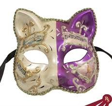 cat masquerade mask purple masquerade masks venetian masks purple and